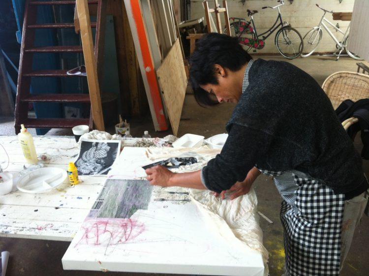 Schilderen met Londense Kunstenares voor Cystic Fibrosis